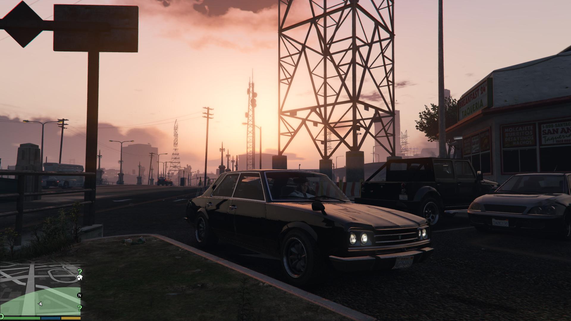 Grand Theft Auto Five Screenshots Max graphics GTAV (12)