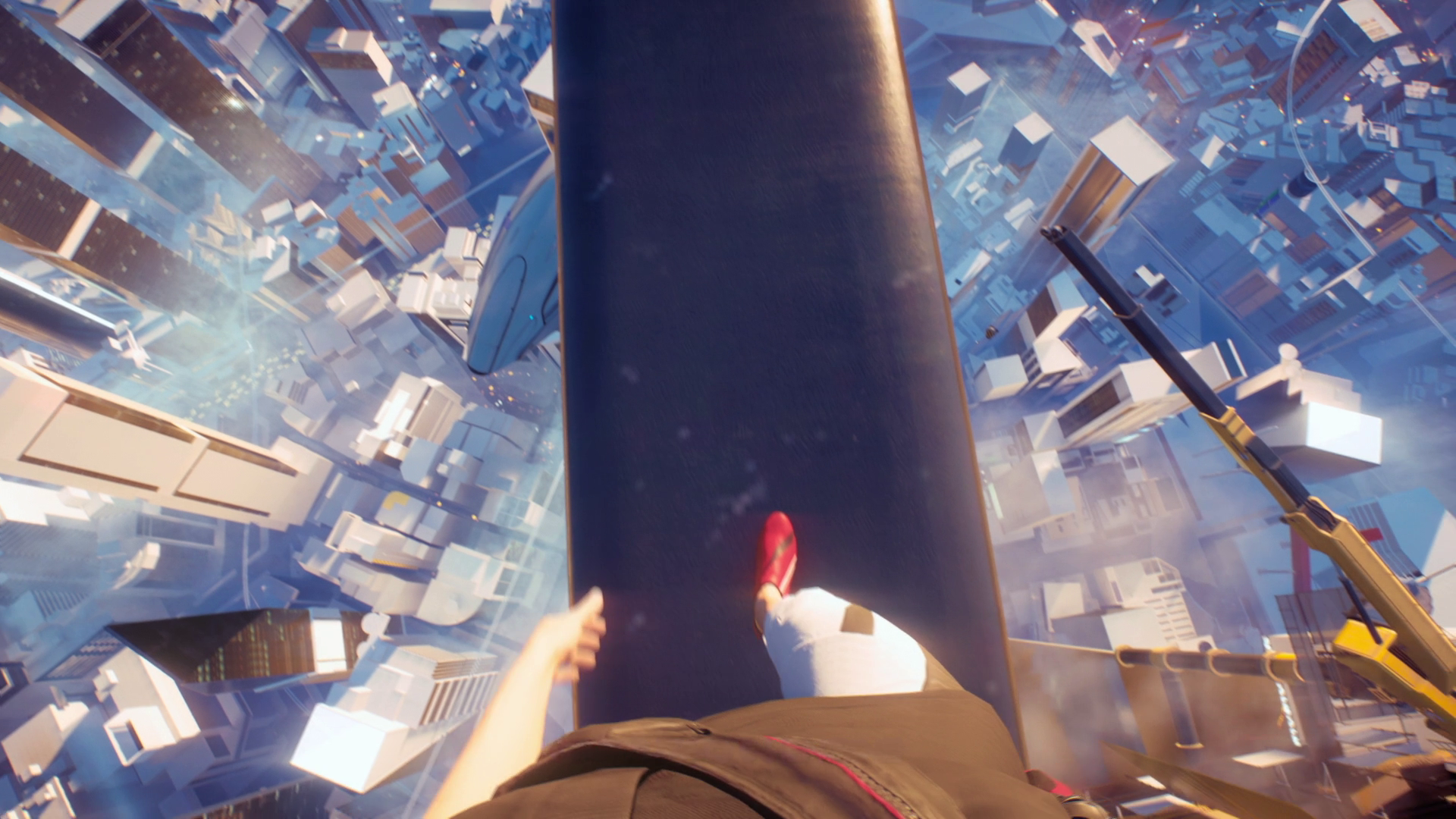 Mirrors Edge Catalyst Walking on the beam