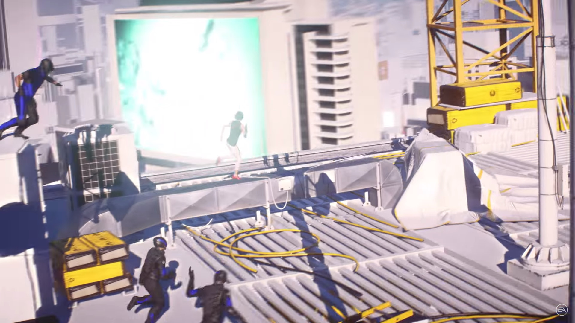 Mirror's Edge Story Screen Grabs (12)