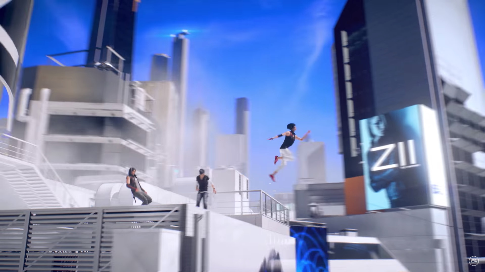 Mirror's Edge Story Screen Grabs (3)