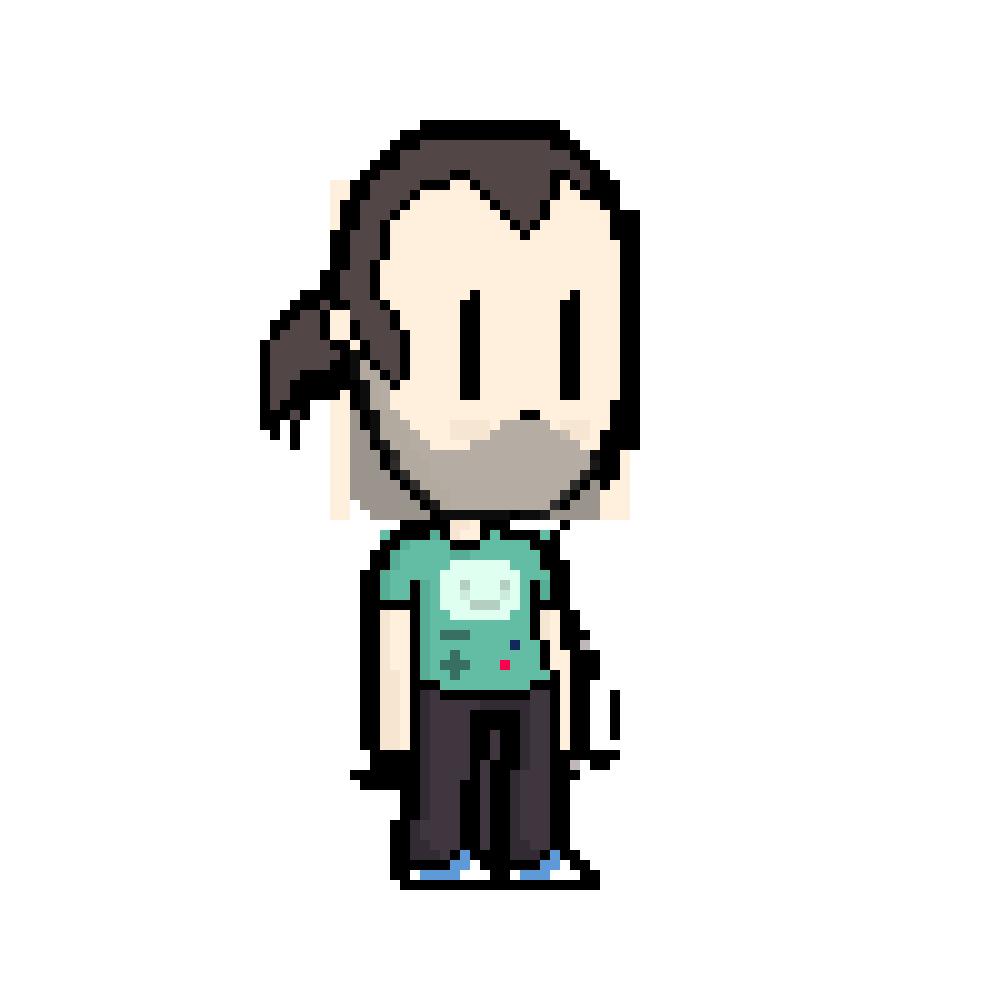 Kristof Pixel Art character