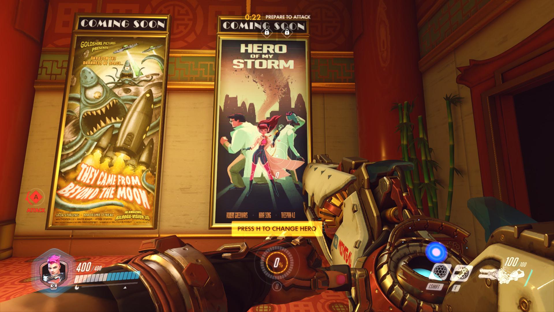 Overwatch Hero Of My Storm Movie Poster Screenshot DVA hana Song