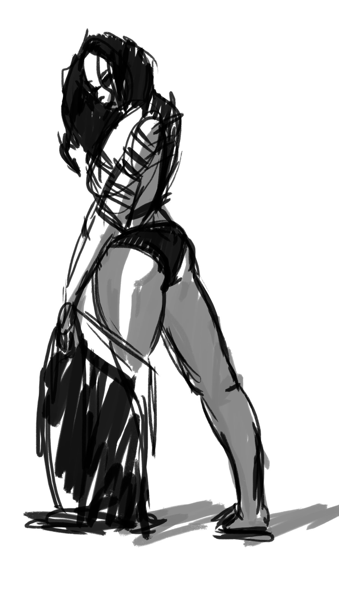 black-and-white-girl-ass-legs-sketch-drawing-izak