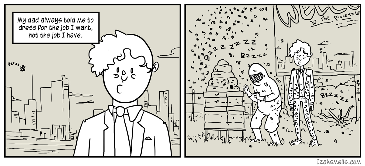 Sometimes I wish I wanted to be an astronaut, and not blue collar middle management.