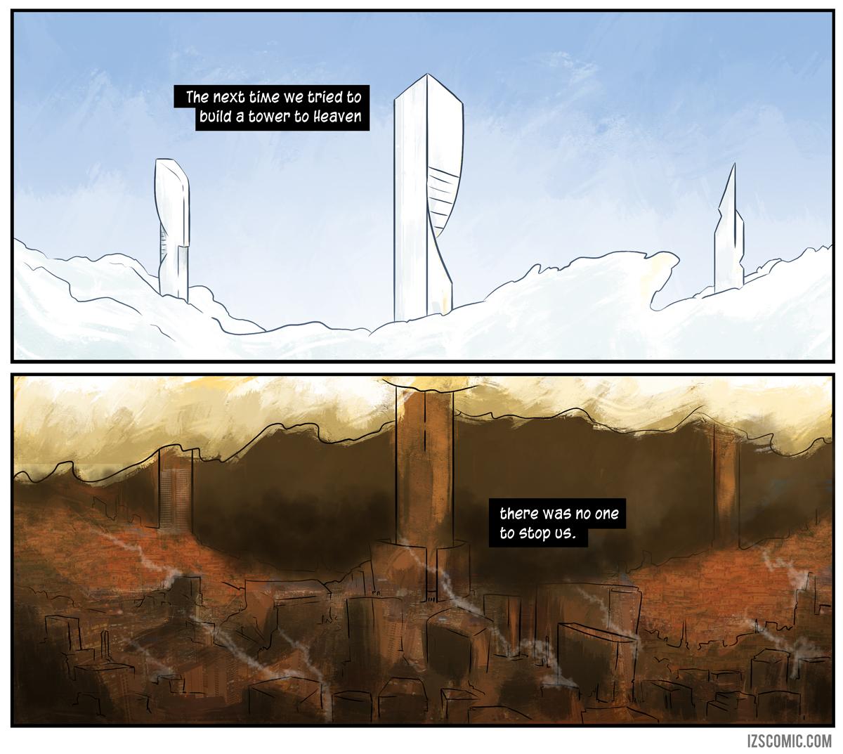 Even Heaven has a cost.
