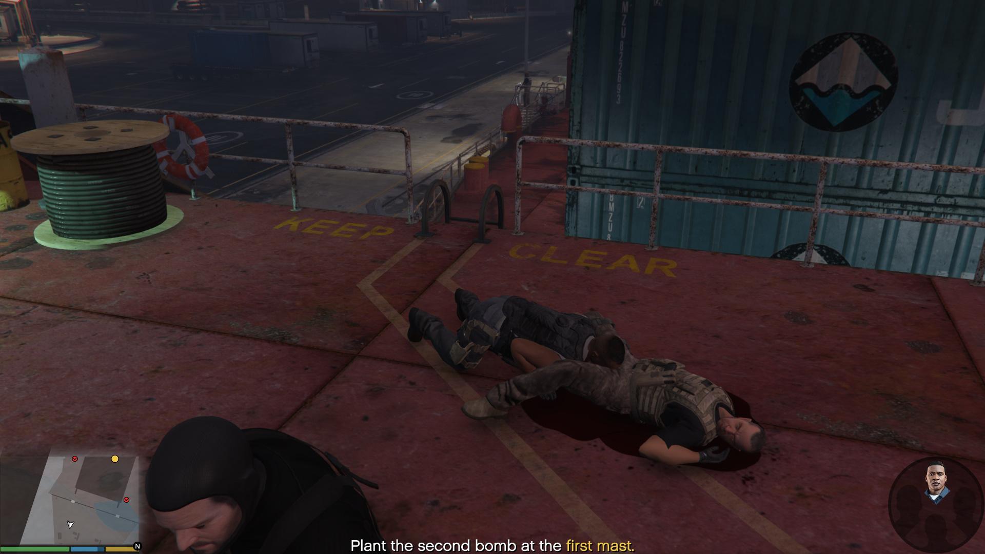 Grand Theft Auto Five Screenshots Max graphics GTAV (1)