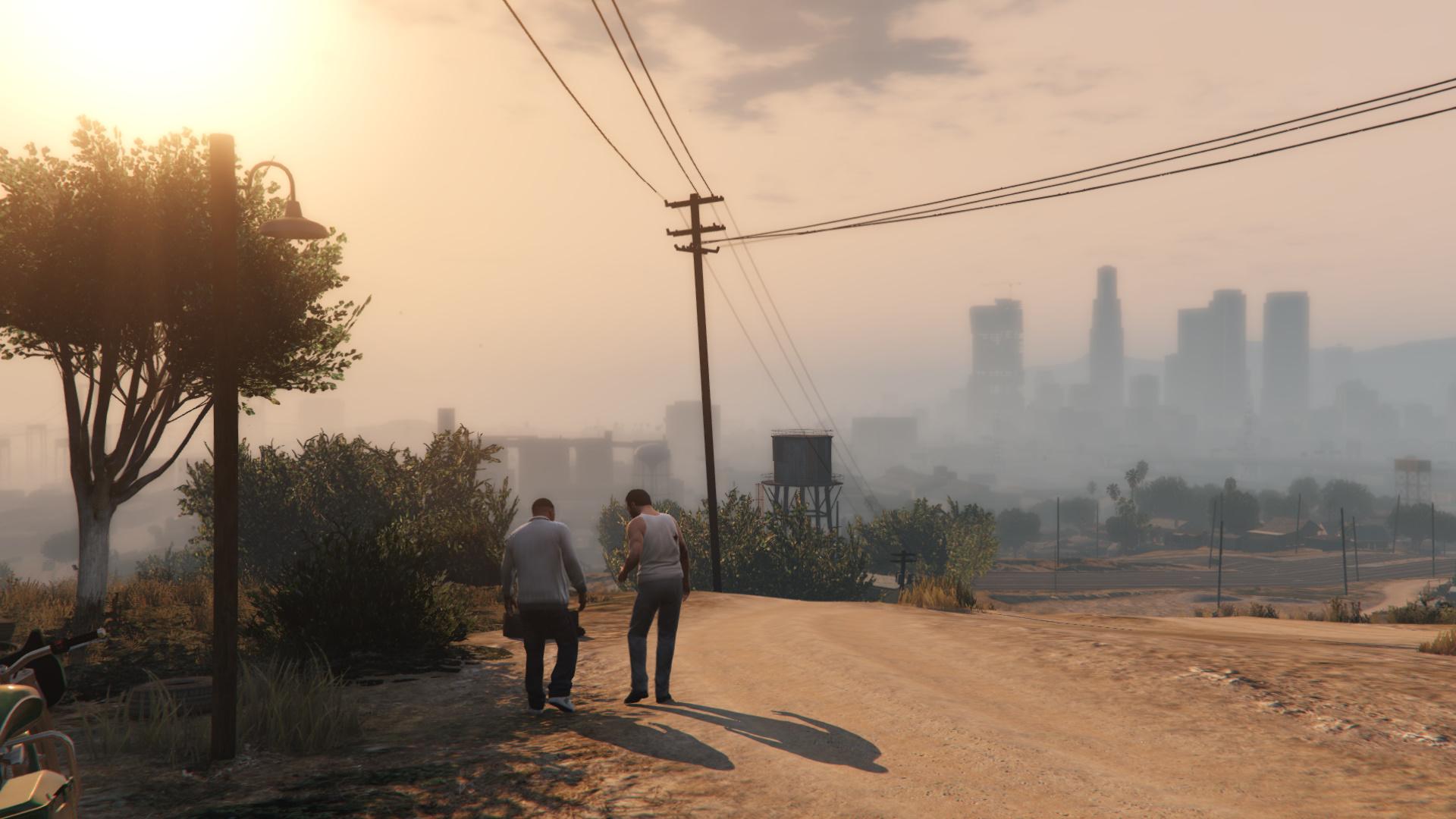 Grand Theft Auto Five Screenshots Max graphics GTAV (10)