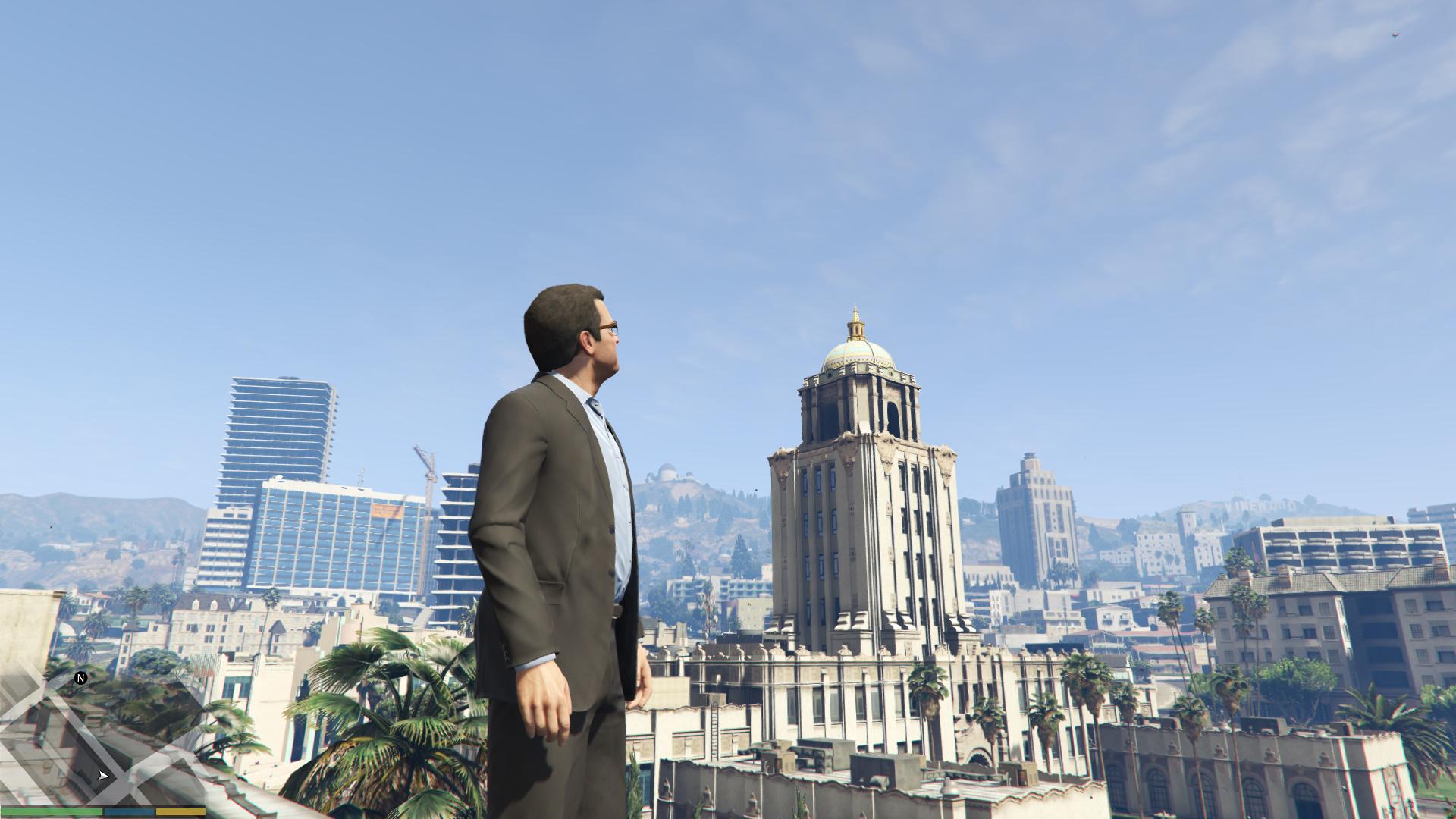 Grand Theft Auto Five Screenshots Max graphics GTAV (5)